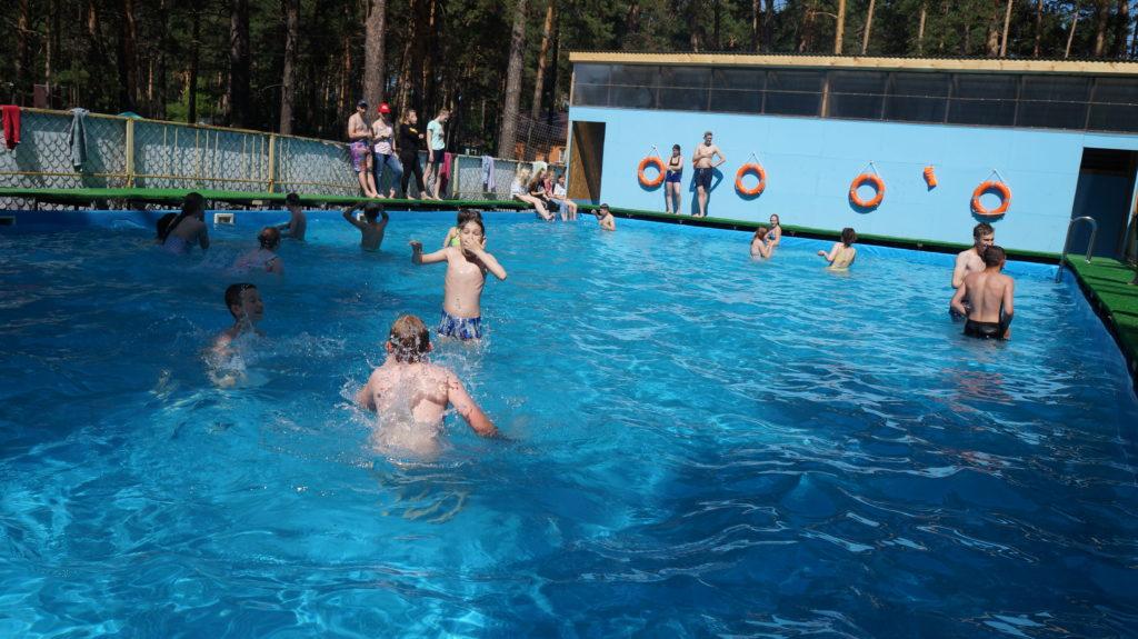 Детский оздоровительный лагерь «Рассвет» Бассеин