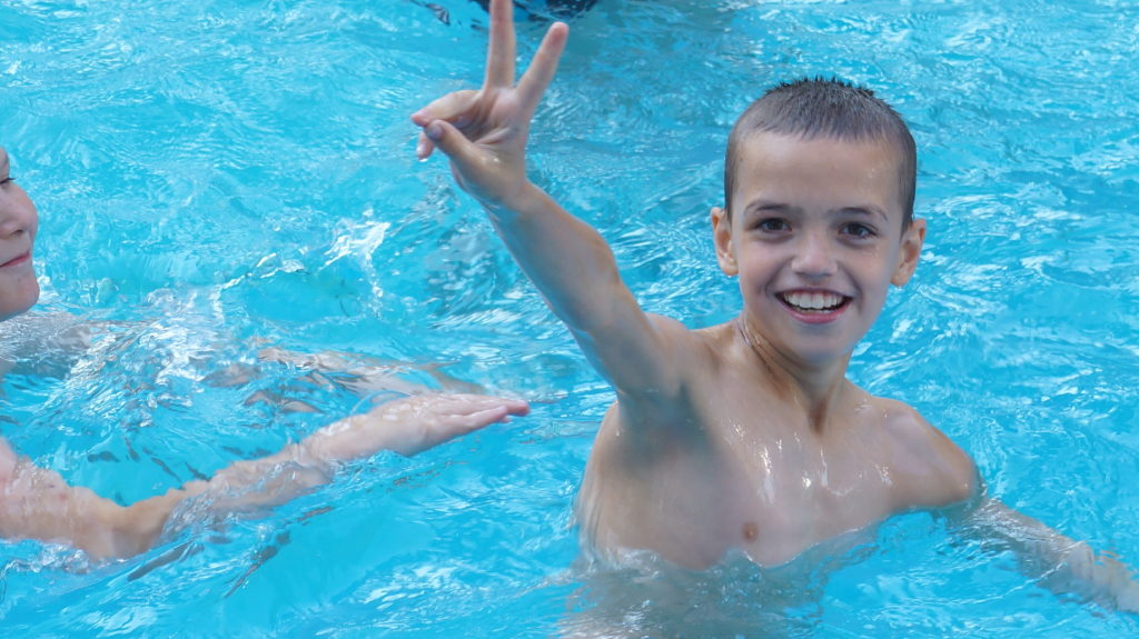 Детский оздоровительный лагерь «Рассвет» Бассейн
